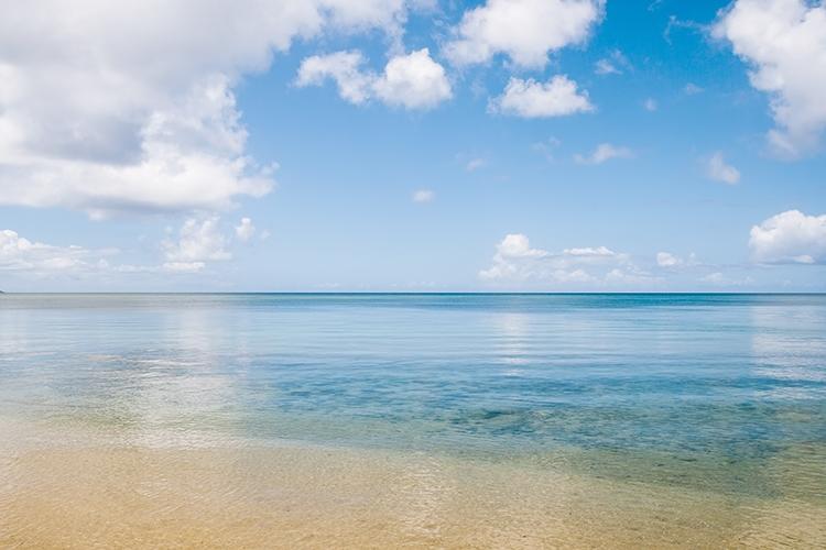 綺麗な海水浴所