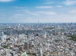 東京とスカイツリーの景色