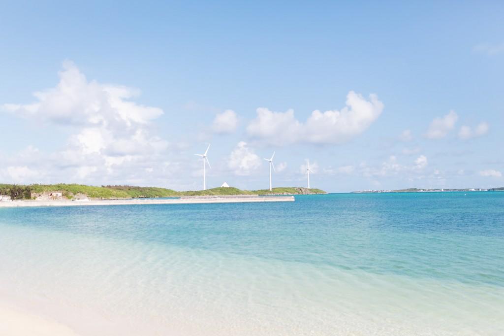 海岸と風力発電